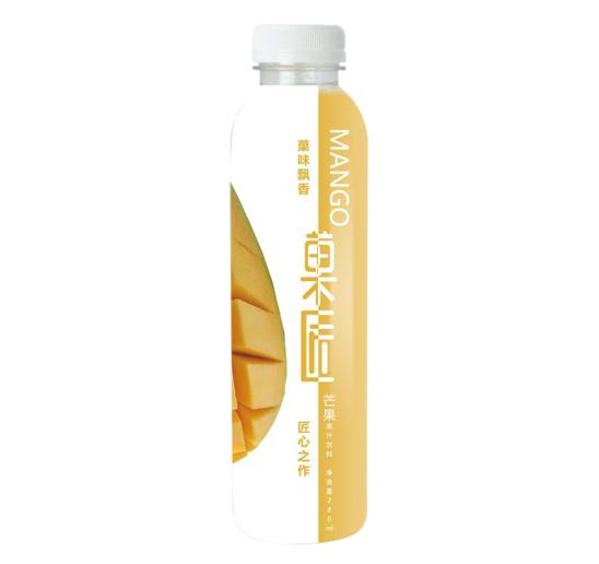PET瓶芒果汁饮料贴牌