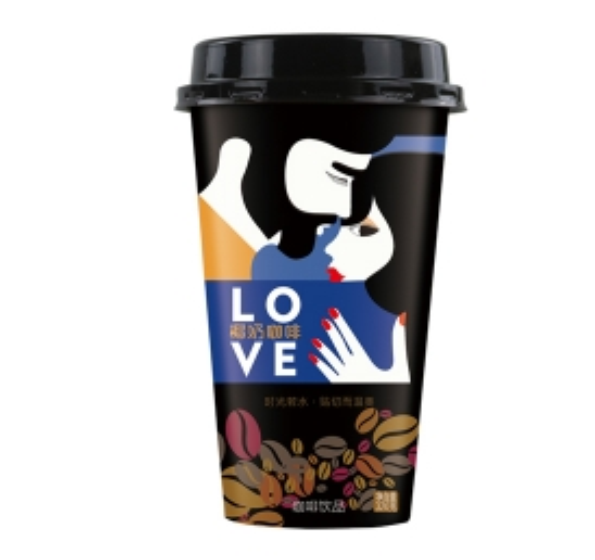 杯装椰奶咖啡饮料贴牌
